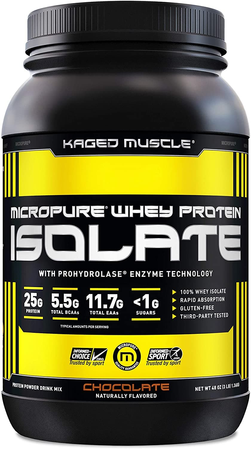 Micropure Whey Protein Isolate by Kaged Muscle