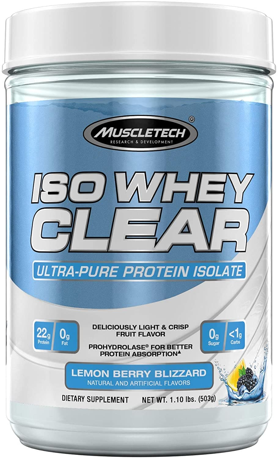 Iso Clear Hydrolyzed by Muscletech